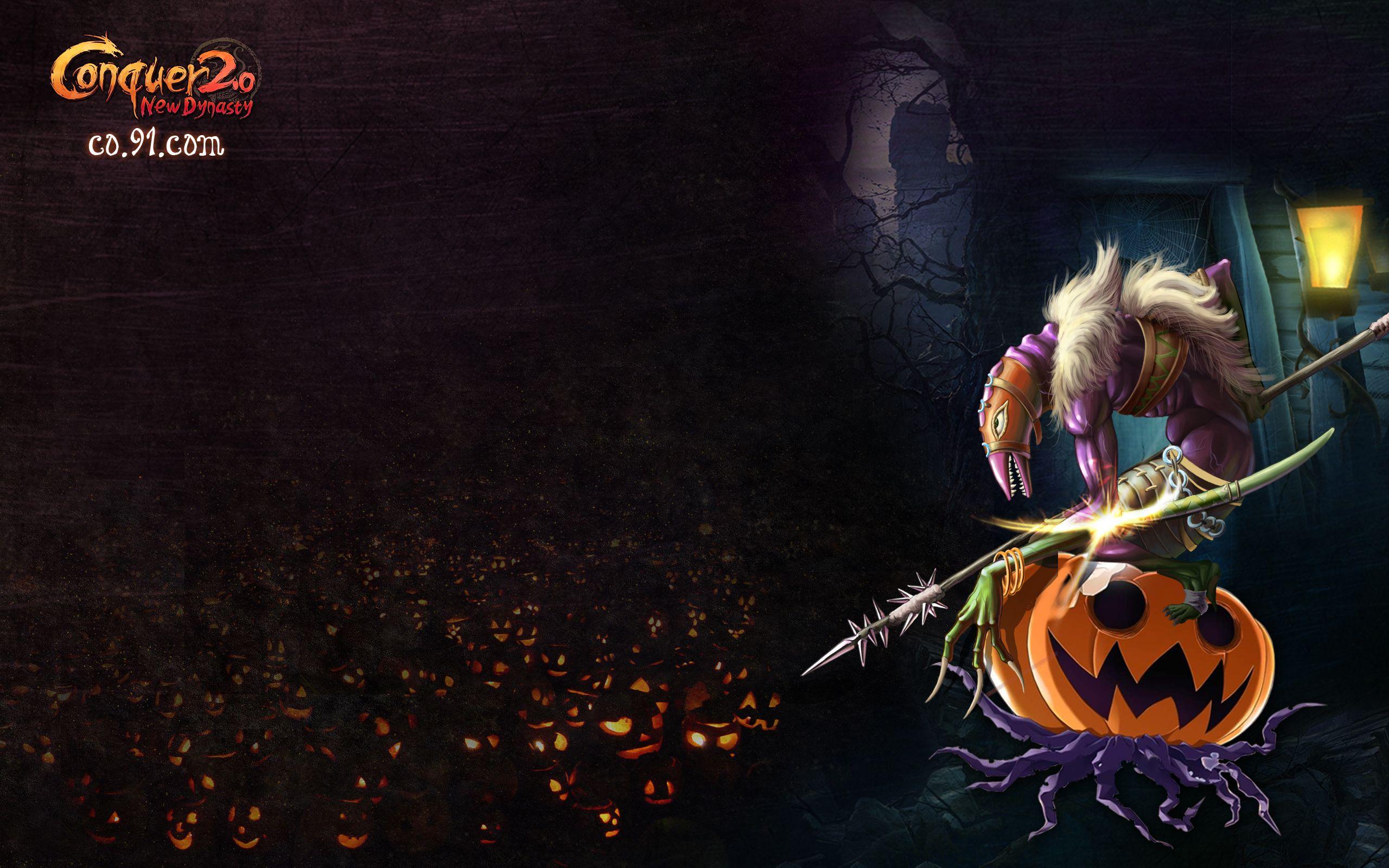 conquer online halloween quest